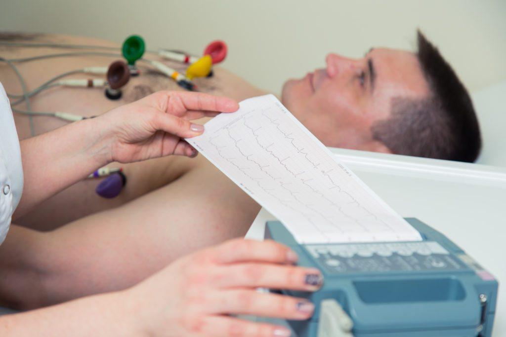 Electrocardiogram  ECG. Shell Medical Check Up   Klinik Noridah